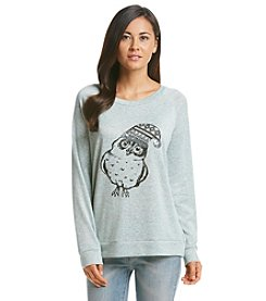 Wallflower® Owl Raglan Top
