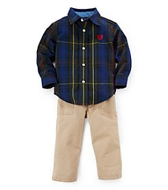 Chaps Baby Boys' 12-24 Month Woven Traditional Set
