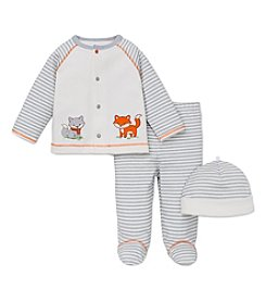 Little Me® Baby Boys' Newborn-9M Fox Friends Take Me Home Set