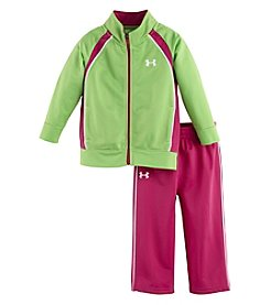 Under Armour® Girls' 4-6X Elite Tricot Set