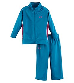 Under Armour® Girls' 2T-6X Elite Tricot Set