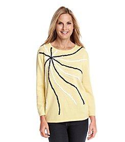 Alfred Dunner® Sausalito Sunburst Sweater