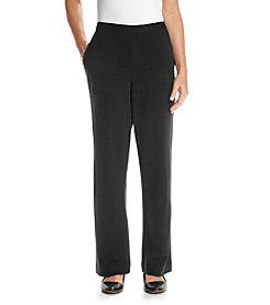 Alfred Dunner® Madrid Solid Regular Pant