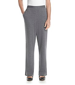 Alfred Dunner® Madrid Solid Regular Pants