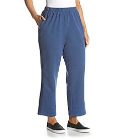 Alfred Dunner® Plus Size Cape Hatteras French Terry Pants