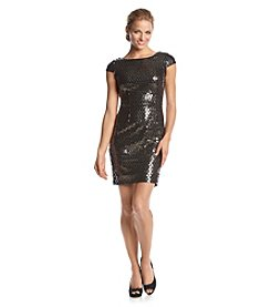 Adrianna Papell® Sequin Sheath Dress