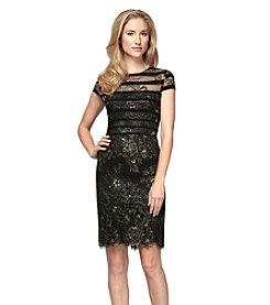 Alex Evenings® Beaded Lace Dress