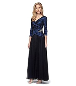 Alex Evenings® A-Line Mock Two-Piece Gown