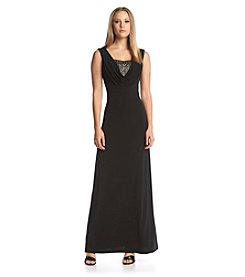 Calvin Klein Beaded Gown
