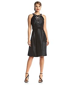 Sangria™ Taffeta Party Dress