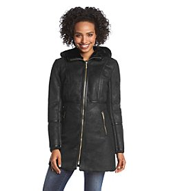 MICHAEL Michael Kors® Hooded Zipfront Walker Coat