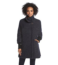 Calvin Klein Short Tweed Coat