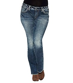 Silver Jeans Co. Plus Size Suki Boot-Cut Jeans