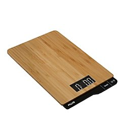 American Weigh Scales® Bamboo Digital Kitchen Scale