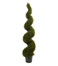 Nearly Natural® Rosemary Spiral Tree