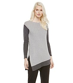 Vince Camuto® Asymmetric Colorblock Sweater