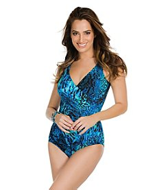 Miraclesuit® Off The Scales Oceanus One-Piece