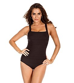 Miraclesuit® Spectra Sq Neck Tank One-Piece