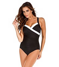 Miraclesuit® Sanibel Colorblock Tank One-Piece