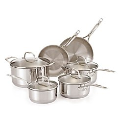 Guy Fieri 10-pc. Stainless Steel Cookware Set