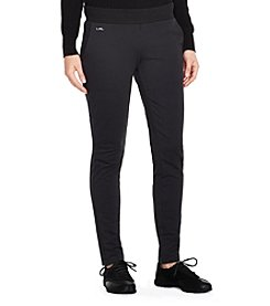 Lauren Active® Stretch Cotton Straight Pant