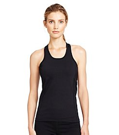 Lauren Active&Reg; Mesh-Panel Racerback Tank