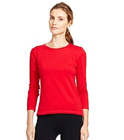 Lauren Active® Cotton Pique Crewneck Tee