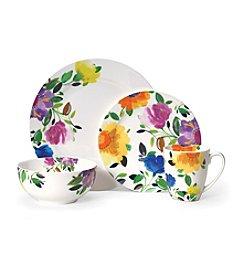 Gourmet Basics by Mikasa Provence Garden 16-Pc. Porcelain Kim Parker Dinnerware Set