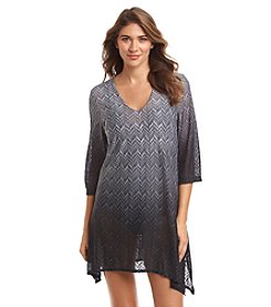 J. Valdi® Ombre Lace Sharkbite Cover-Up