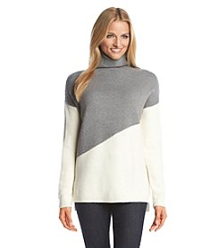 DKNY JEANS® Funnel Neck Sweater