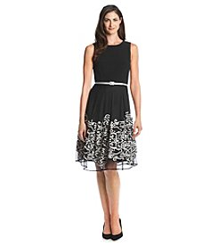Madison Leigh® Mesh Soutache Dress