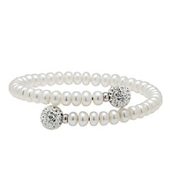 Honora Style® Pearl Coil Bracelet