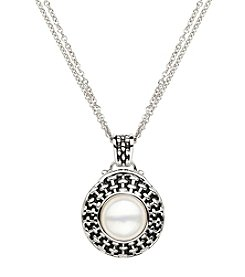 Honora Style® Pearl Pendant in Sterling Silver
