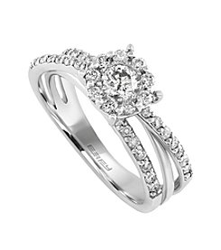 Effy® 0.74 ct. t.w. Diamond Ring in 14k White Gold