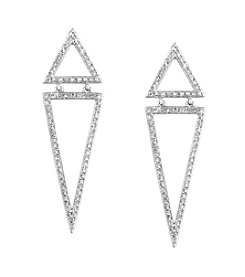 Effy® 0.59 ct. t.w. Diamond Earrings in 14k White Gold
