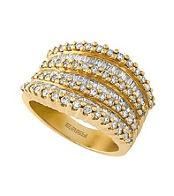 Effy® 1.47 ct. t.w. Diamond Ring in 14k Yellow Gold