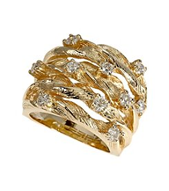 Effy® 0.98 Ct Diamond Ring in 14k Yellow Gold