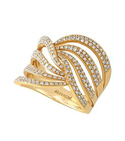 Effy® .74 ct. t.w. Diamond Ring in 14k Yellow Gold