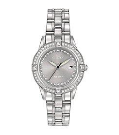Citizen® Women's Swarovski® Crystal Stainless Steel Watch