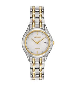 Citizen® Women's Diamond Two Tone Watch