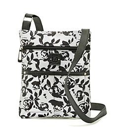 Stone Mountain® Lockport Rose Print Crossbody