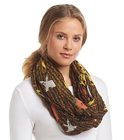 Free Spirit™ Happy Halloween Loop Scarf