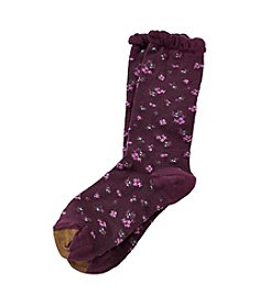 GOLD TOE® Mini Toss Floral Socks