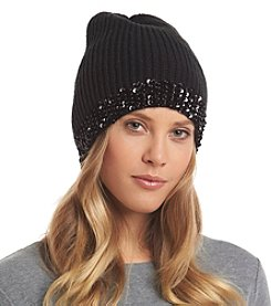 Collection 18 Beaded Rib Beanie