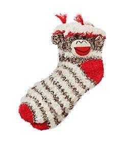 Legale® 3D Side Panel Monkey Slipper Socks