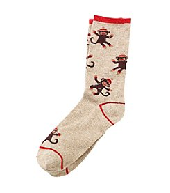 Legale® Monkey Crew Socks