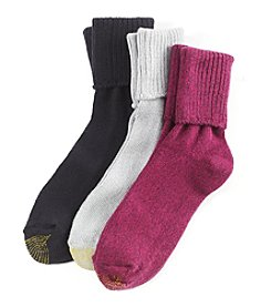 GOLD TOE® 3 Pack Bermuda Socks