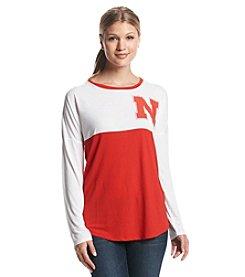 College Concepts NCAA® Nebraska Cornhuskers Women's Long Sleeve Comeback Top