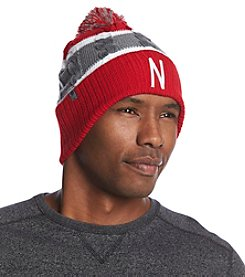 NCAA® Nebraska Men's Windy Knit Pom Hat