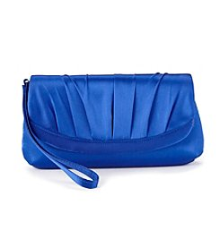 La Regale® Satin Flap Wristlet